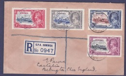 Gambie Gambia Cover With Jubilee Issue For England  Can DE 27 35 - Gambia (...-1964)