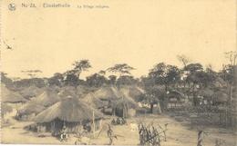 Congo - Elisabethville (Lubumbashi) - Le Village Indigène (cases) - Carte Nels N° 28 - Lubumbashi
