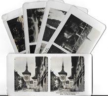 Collection Stéréoscopique LOT De  5 Photos Stéréoscopiques GALACTINA N°5-4-3-2-1/ BERNE  Suisse/ NPG 1906 - Stereoscopic