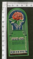 India Vintage Trade Label Rose Essential Hair Oil Label Flower # LBL84 - Etiquettes