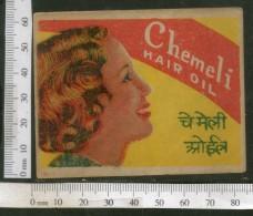 India Vintage Trade Label Jasmine Chameli Essential Hair Oil Label Women # LBL90 - Labels
