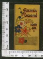 India Vintage Trade Label Gasmin Cocoanut Essential Hair Oil Label # LBL94 - Labels