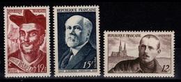 YV 864 à 866 N** Cote 2 Euros - Unused Stamps