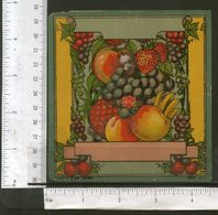 India Vintage Trade Label Grapes Banana Mango Strawberry Fruits Label # LBL102 - Labels