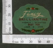 India Vintage Trade Label Fancy Essential Hair Oil Label # LBL115 - Etiquettes