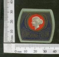 India Vintage Trade Label Vanishing Cream Label Women# LBL116 - Etiquettes