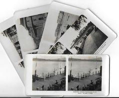 Collection Stéréoscopique LOT De 5 Photos Stéréoscopiques GALACTINA N°31-30-29-28-27/ GENEVE Suisse/ NPG 1906 - Stereoscopic