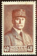 TIMBRE MARECHAL PETAIN YT N°470 / 471 / 473 / 494 NEUF Avec GOMME* Cote 1,85 Euro - France