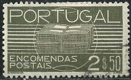 Portugal 1936 Parcel Post - Parcel Post Package PP2 Canc - Post