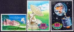 TRINIDAD & TOBAGO 1971 SG #403-05 Compl.set Used Satellite Earth Station - Trinidad & Tobago (1962-...)