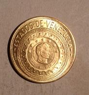 TOKEN JETON GETTONE VENEZUELA SIMON BOLIVAR ANZOATEGUI - Monetari / Di Necessità
