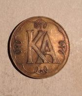TOKEN JETON GETTONE K. A. 2 - Entriegelungschips Und Medaillen