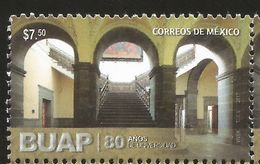 RJ) 2017 MEXICO, BUAP 80 YEARS OF UNIVERSITY, MNH - Mexico