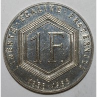 GADOURY 475 - 1 FRANC 1988 TYPE CHARLES DE GAULLE SANS DIFFERENT - SUP A FDC - France
