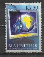 MAURITIUS 2008 - U.P.U. CONGRESS - POSTALLY USED - OBLITERE GESTEMPELT USADO - HIGH FACIAL VALUE - U.P.U.