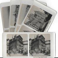 Collection Stéréoscopique LOT De 5 Photos Stéréoscopiques GALACTINA N°39-38-40-41-42/ LAUSANNE Suisse/ NPG 1906 - Stereoscopic