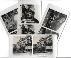Collection Stéréoscopique LOT De 4 Photos Stéréoscopiques GALACTINA N°14-15-15-13 / INTERLAKEN( Berne) Suisse/ NPG 1906 - Stereoscopic