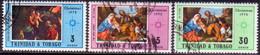 TRINIDAD & TOBAGO 1972 SG #431-33 Compl.set Used Christmas - Trinidad & Tobago (1962-...)