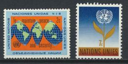 °°° UNITED NATIONS - Y&T N°121/22  - 1964 MNH °°° - Unused Stamps