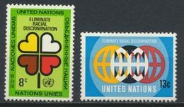°°° UNITED NATIONS - Y&T N°213/14  - 1971 MNH °°° - New York – UN Headquarters