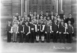 (Doubs)  Photo Grandvillars Pentecote 1953  Photo Faivre Grandvillars (17X12cm)  (Bon Etat) - Grandvillars