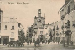 ITALIE ( Puglia - Pouilles) - TARANTA (Tarente ) -  Piazza Fontana - Taranto