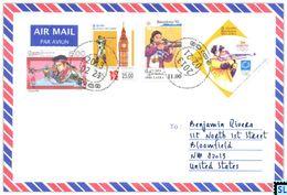 Sri Lanka Stamps, Shooting, Olympic, Sports, Personalized Cover - Sri Lanka (Ceylon) (1948-...)
