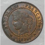 GADOURY 105 - 2 CENTIMES 1895 A Paris TYPE CERES - TTB+ - KM 827 - France