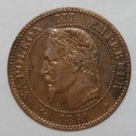 GADOURY 104 - 2 CENTIMES 1861 A Paris TYPE NAPOLEON III - TTB+ - KM 796 - France