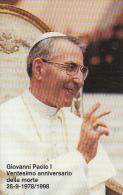VATICAN - Giovanni Paolo I(50), Tirage 18000, Exp.date 01/09/00, Mint - Vatican