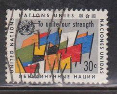 UNITED NATIONS Scott # 92 Used - New York – UN Headquarters
