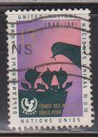 UNITED NATIONS Scott # 99 Used - New York – UN Headquarters