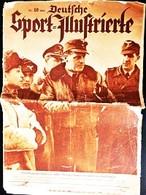 Deutsche Sport-Illustrierte, Nr.10 From 9.march 1943, Last Issue,football, Autosport - Sports