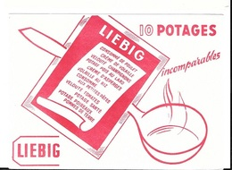 Buvard  Marque  Potages  LIEBIG - Buvards, Protège-cahiers Illustrés