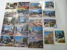 GRENOBLE : TRAMWAY Et TROLLEYBUS Lot De 70 CPM - Voir Les Scans - Tramways
