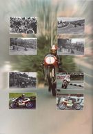 Isle Of Man MNH Sheetlets In Folder - Motorbikes