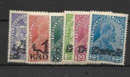 1920 MH Liechtenstein - Tristan Da Cunha