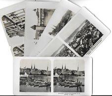 Collection Stéréoscopique LOT De 5 Photos Stéréoscopiques GALACTINA N°21-20-23-24-22/ LUCERNE Suisse/ NPG 1906 - Stereoscopic