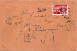 Brief  Lausanne - Eriswil  (weitergeleitet)            1947 - Cartas