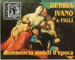 Sassuolo (MO) -Debba Ivano E Figli - Commercio Mobili D'Epoca - - Calendarios