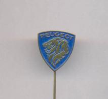 OLD AUTO CAR PEUGEOT  PIN BADGE - Peugeot