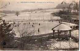 83Vn  88 Bruyéres En Vosges Patinage Sur Lac De Pointhais - Bruyeres