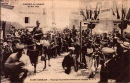 CPA - YVELINES - Saint Germain - Marche De L'Armée 29 Mai 1904 - Passage Du Premier Arrivant Au Contrôle - - St. Germain En Laye