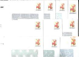 FRANCE 2003 ENTIERS YT N° PREO247-E3/E5 Et Utres ORCHIDEE DE SAVOIE UTILISES - France