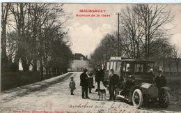 (63) CPA  Meursault Avenue De La Gare  (Bon Etat) - Meursault