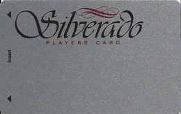 Silverado Casino - Deadwood SD - BLANK 4th Issue Slot Card - DLR CP Over Mag Stripe - Casino Cards