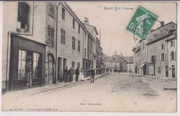 SAINT DIE : RUE CONCORDE - DEBITANT MARTIN - ECRITE EN 1908 - 2 SCANS - - Saint Die