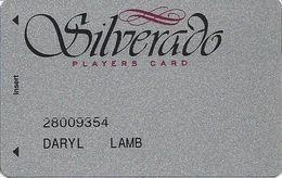 Silverado Casino - Deadwood SD - 5th Issue Slot Card - No Text Over Mag Stripe - Casino Cards