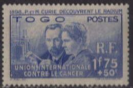 TOGO - Pierre Et Marie Curie - Togo (1914-1960)
