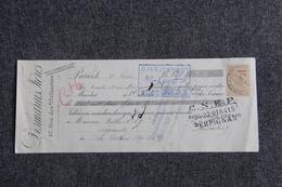 Lettre De Change - PARIS, DESMARETS Frères Vers LE PERTHUS - Bills Of Exchange